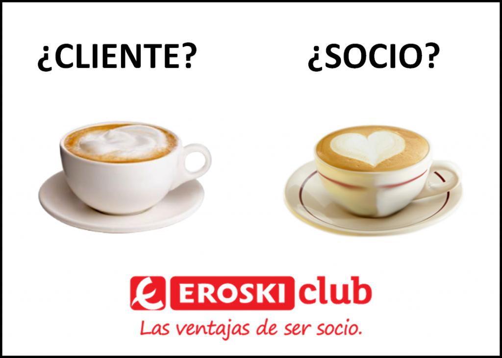 Eroski Club publicidad café