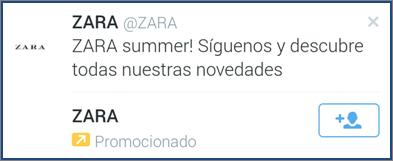 Zara tuit