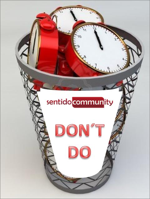 No pierdas el tiempo