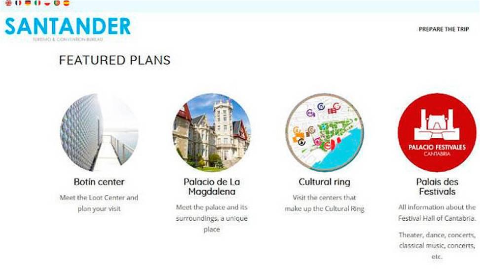 Santander Fitur web