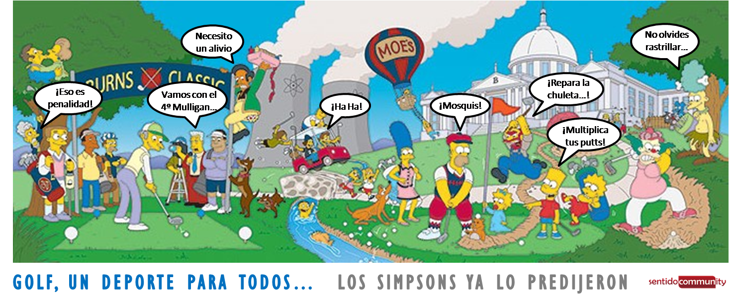 Los Simpsons Golf